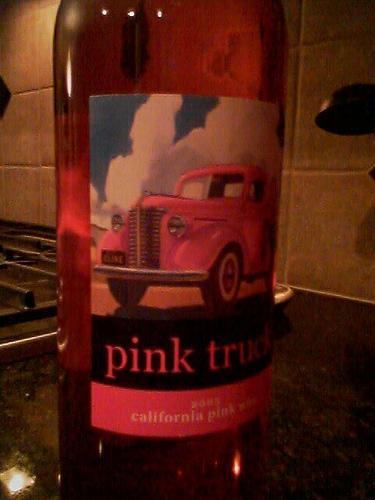 Pink wine!