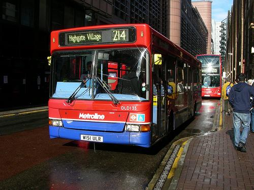 W151 ULR at Liverpool Street station