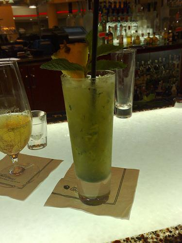 Wow. Pineapple Mojito