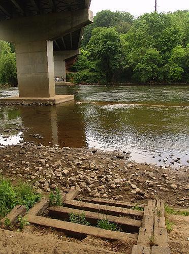river low