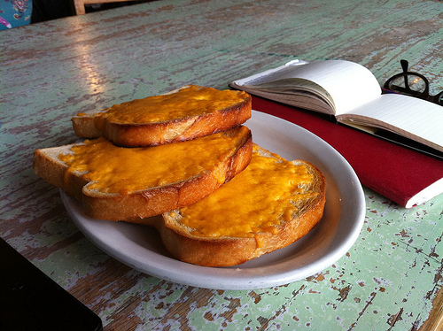 Cheese toast!