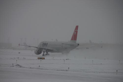 Winter Storm Take Off
