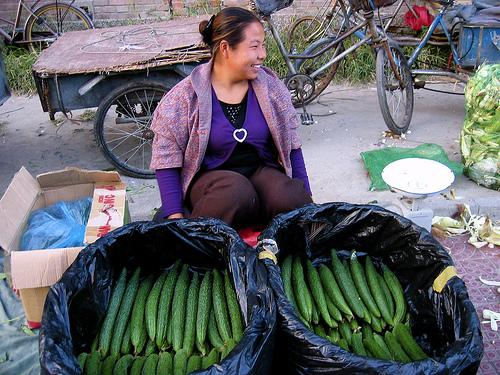 Cucumber vendor---Beijing