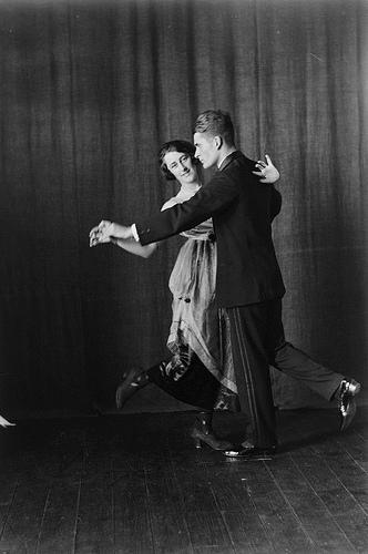 Mr. and Mrs. Jones dancing