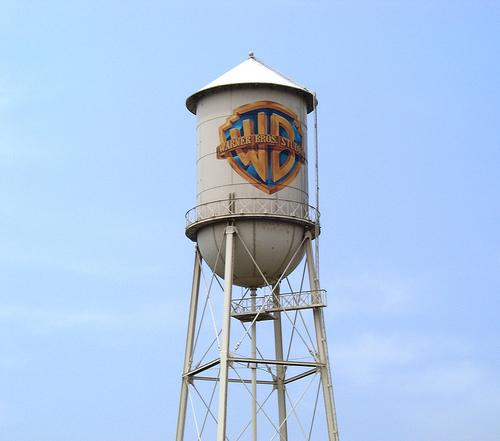 warner bros. water tower