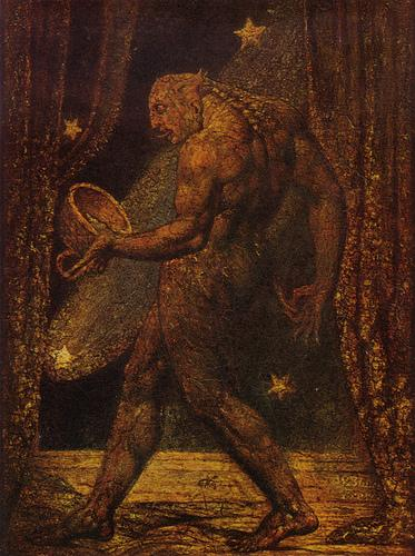 William Blake - The Ghost of a Flea