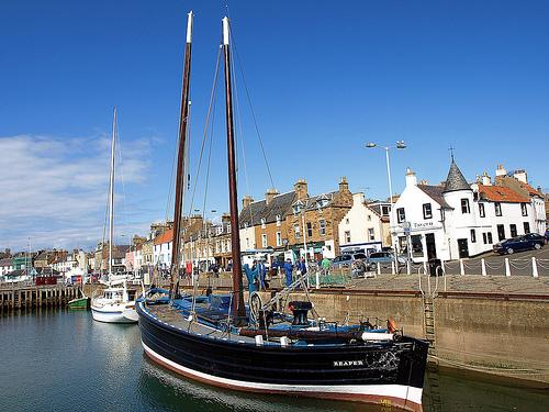 The Reaper at Anstruther